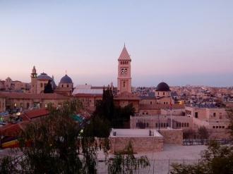 Old City at Sundown
