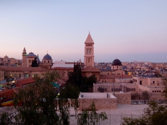 Old City at Sundown