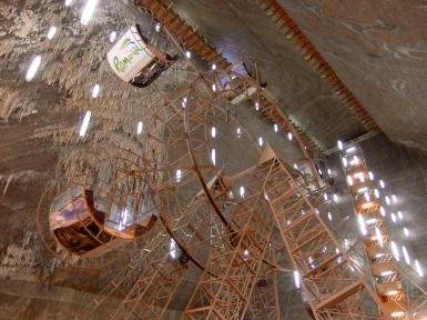 Ferris Wheel in Upper Chamber