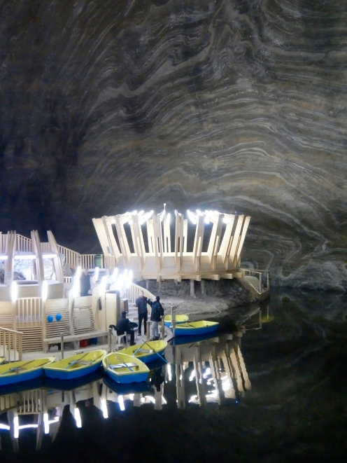 Lake in Bottom Chamber