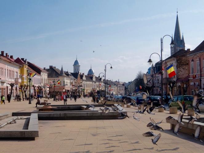 Turda's Main Square